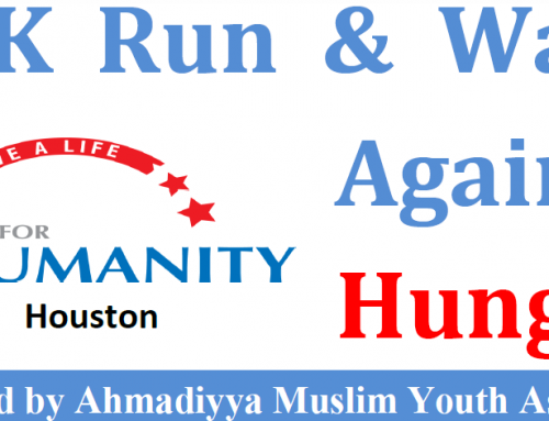 Humanity First USA to fight hunger in the State of Texas