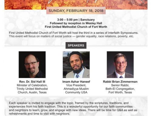 Social Justice Interfaith Symposium